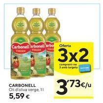 Oferta de Aceite de oliva virgen Carbonell por 5,59€