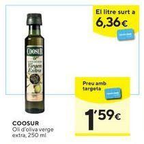 Oferta de Aceite de oliva virgen extra Coosur por 1,59€