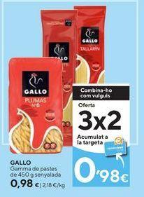 Oferta de Pasta Gallo por 0,98€