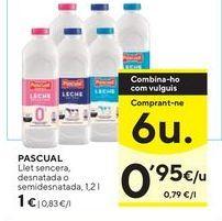 Oferta de Leche Pascual por 1€
