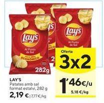 Oferta de Patatas fritas Lay's por 2,19€