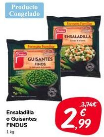Oferta de Ensaladilla o Guisantes FINDUS  por 2,99€