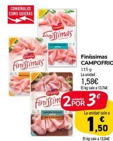 Oferta de Finíssimas CAMPOFRIO  por 1,58€