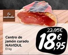 Oferta de Centro de jamón curado NAVIDUL  por 18,95€