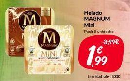 Oferta de Helado MAGNUM Mini  por 1,99€
