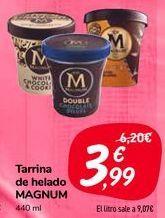 Oferta de Tarrina de helado MAGNUM  por 3,99€
