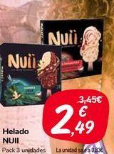Oferta de Helado NUII  por 2,49€