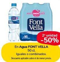 Oferta de En Agua FONT VELLA por