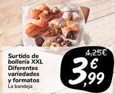 Oferta de Surtido de bollería XXL Diferentes variedades y formatos  por 3,99€