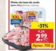 Oferta de Lomo de cerdo por 2,99€