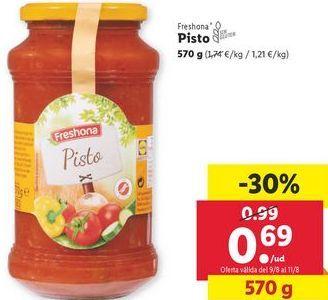 Oferta de Pisto Freshona por 0,69€