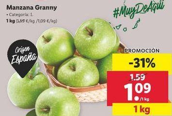 Oferta de Manzanas por 1,09€