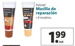 Oferta de Masilla Parkside por 1,99€