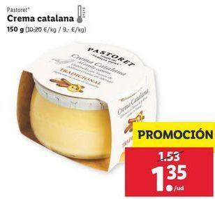 Oferta de Crema catalana Pastoret por 1,35€
