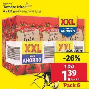 Oferta de Tomate frito Freshona por 1,39€