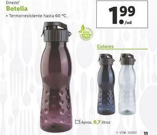 Oferta de Botella de agua ernesto por 1,99€