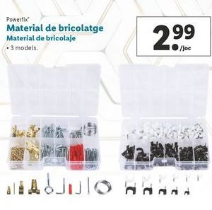 Oferta de Material de bricolaje Powerfix por 2,99€