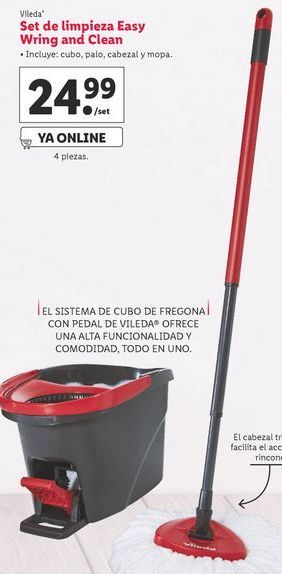Oferta de Mopa  Vileda por 24,99€