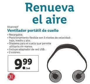 Oferta de Ventiladores SilverCrest por 9,99€