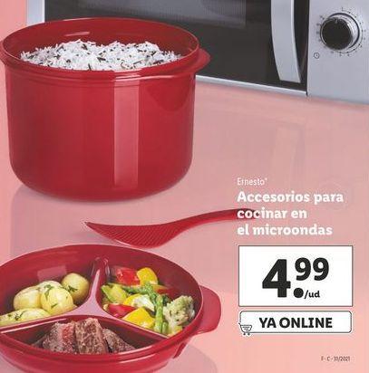 Oferta de Accesorios para cocinar Ernesto por 4,99€