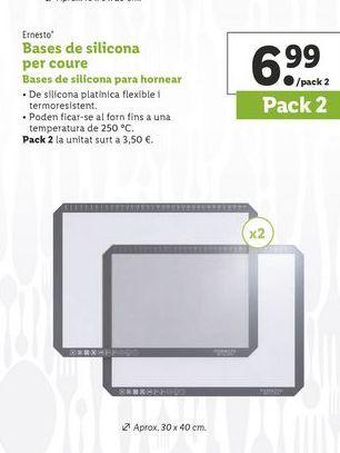 Oferta de Bases de pizza Ernesto por 6,99€