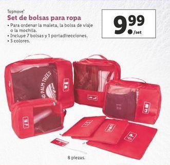 Oferta de Bolsa para ropa Top Move por 9,99€