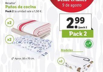 Oferta de Paños Meradiso por 2,99€