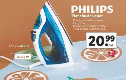 Oferta de Plancha de vapor Philips por 20,99€