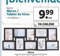 Oferta de Marco de fotos Livarno por 9,99€
