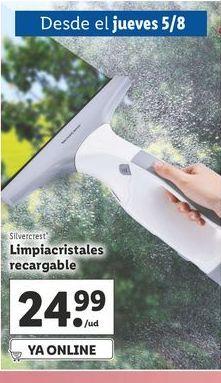 Oferta de Limpiacristales Silvercrest por 24,99€