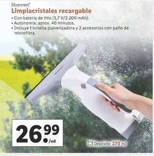 Oferta de Limpiacristales SilverCrest por 26,99€