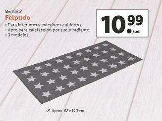 Oferta de Felpudo Meradiso por 10,99€
