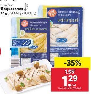 Oferta de Boquerones ocean sea por 1,29€