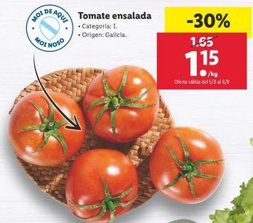 Oferta de Tomate ensalada por 1,15€