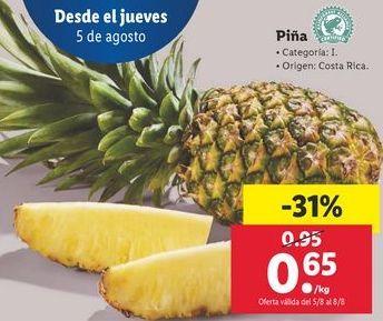 Oferta de Piña por 0,65€