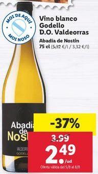 Oferta de Vino blanco por 2,49€