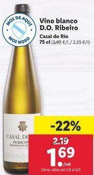 Oferta de Vino blanco por 1,69€