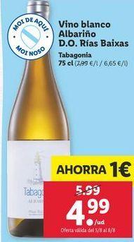 Oferta de Vino blanco por 4,99€