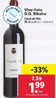 Oferta de Vino tinto por 1,99€