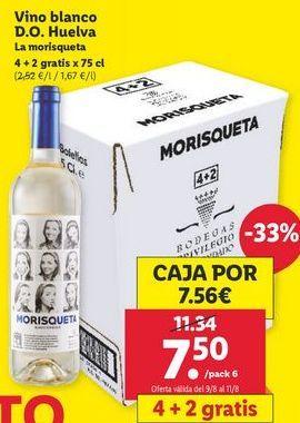 Oferta de Vino blanco por 7,5€