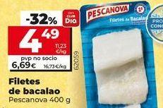 Oferta de Bacalao Pescanova por 4,49€
