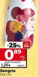 Oferta de Sangria Dia  por 0,89€