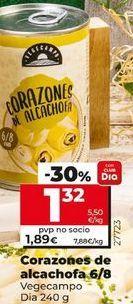 Oferta de Corazones de alcachofa por 1,32€