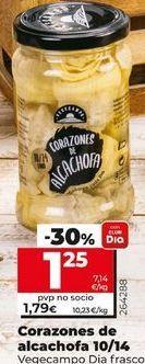 Oferta de Corazones de alcachofa por 1,25€