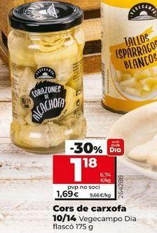 Oferta de Corazones de alcachofa por 1,18€