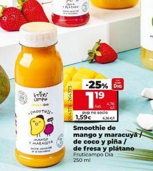 Oferta de Bebidas Dia por 1,19€