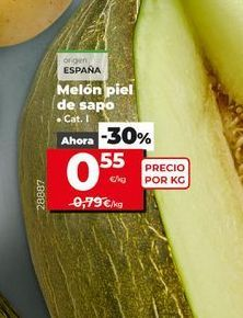 Oferta de Melón piel de sapo  por 0,55€