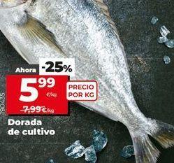 Oferta de Dorada de cultivo por 5,99€