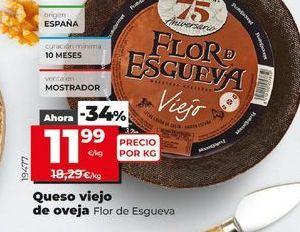 Oferta de Queso viejo de oveja  Flor de Esgueva por 11,99€