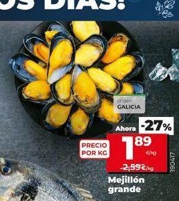 Oferta de Mejillones grande  por 1,89€